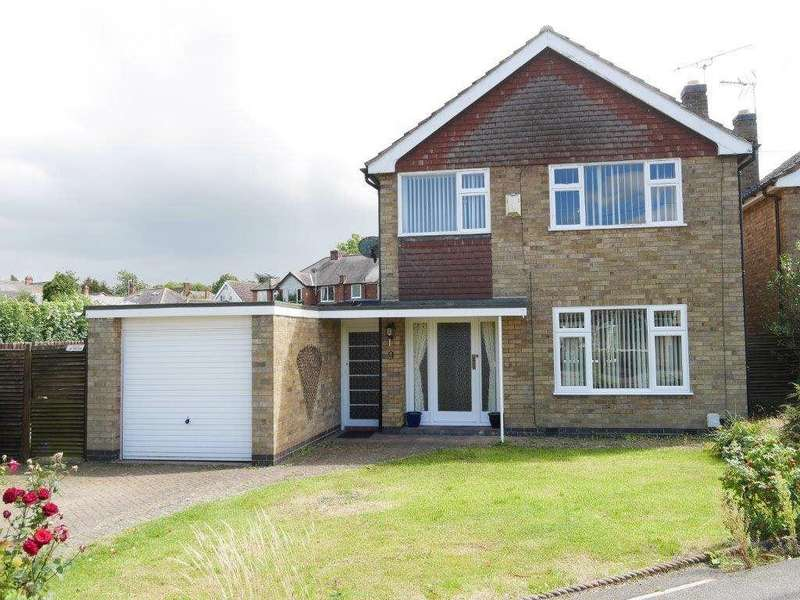 3 Bedrooms Detached House for rent in Gwendoline Drive, Countesthorpe LE8 5SH