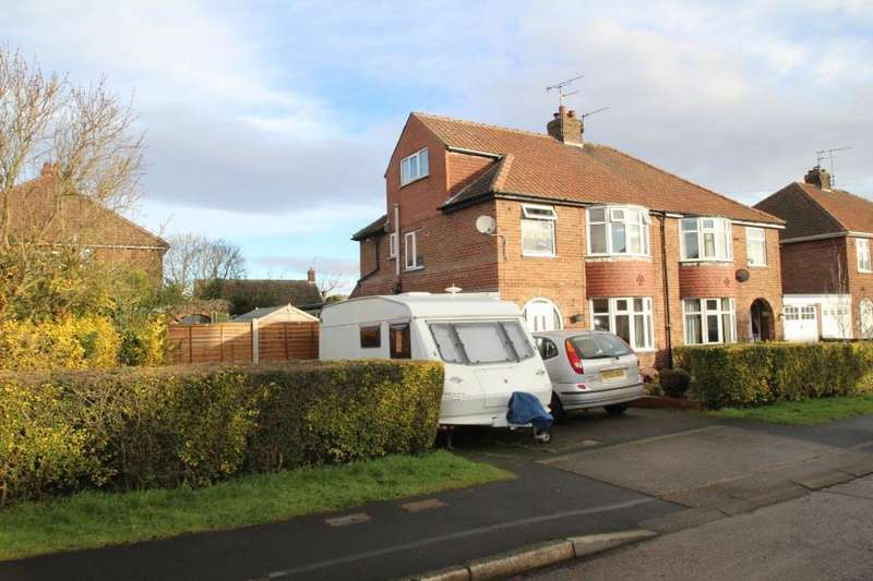 4 Bedrooms Semi Detached House for sale in RAWCLIFFE CROFT, YORK, YO30 5US