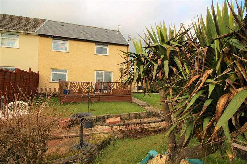 3 Bedrooms Semi Detached House for sale in Hendreforgan Crescent, Porth