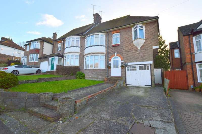 4 Bedrooms Semi Detached House for sale in Wardown Crescent, Luton, LU2 7JS