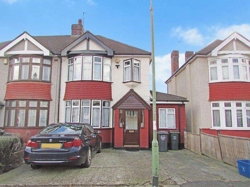 4 Bedrooms Semi Detached House for sale in Chastilian Road, Crayford