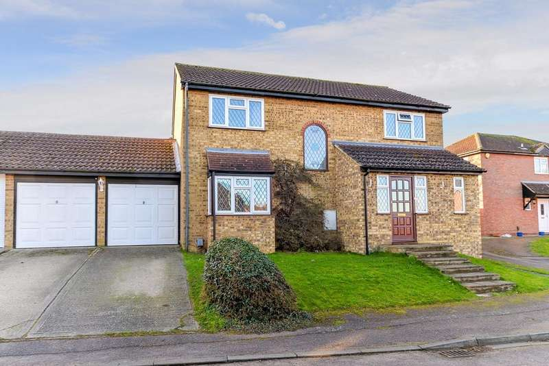 5 Bedrooms Link Detached House for sale in Pennine Rise, Flitwick, MK45