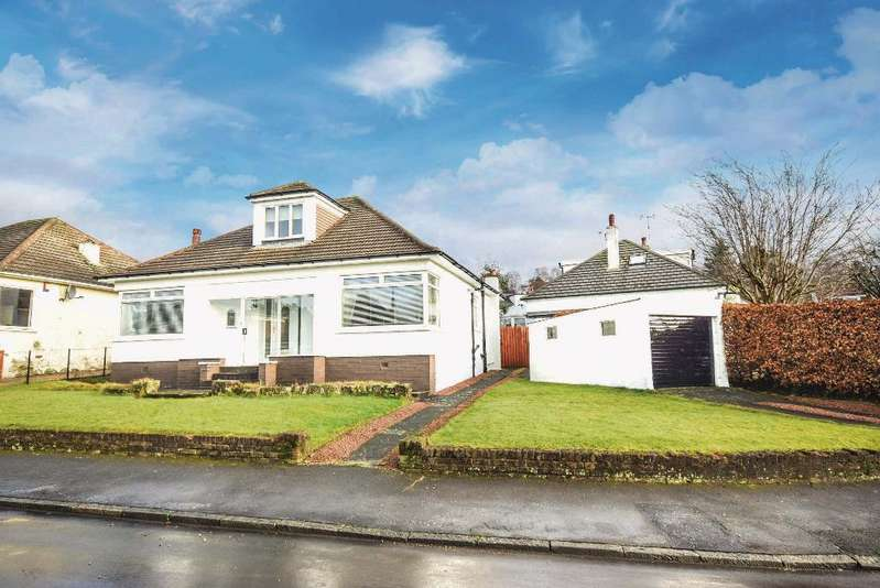 3 Bedrooms Detached Bungalow for sale in Parklee Drive, Carmunnock, Glasgow, G76 9AS