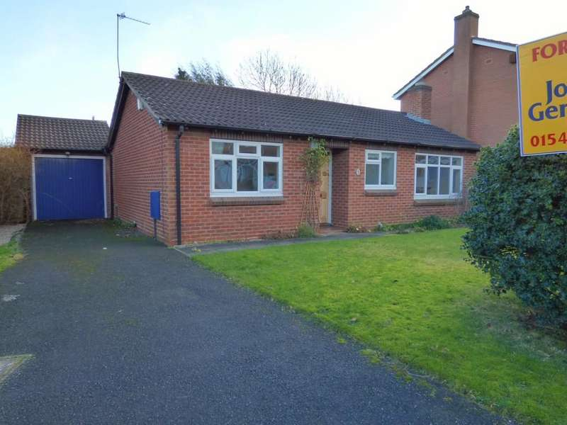 2 Bedrooms Detached Bungalow for sale in Larch Close, Lichfield