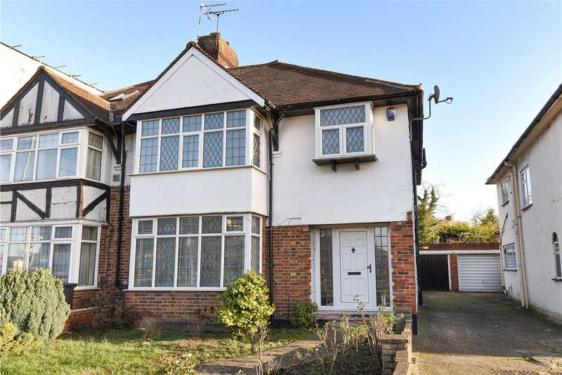 3 Bedrooms Semi Detached House for sale in Watford Way, Mill Hill