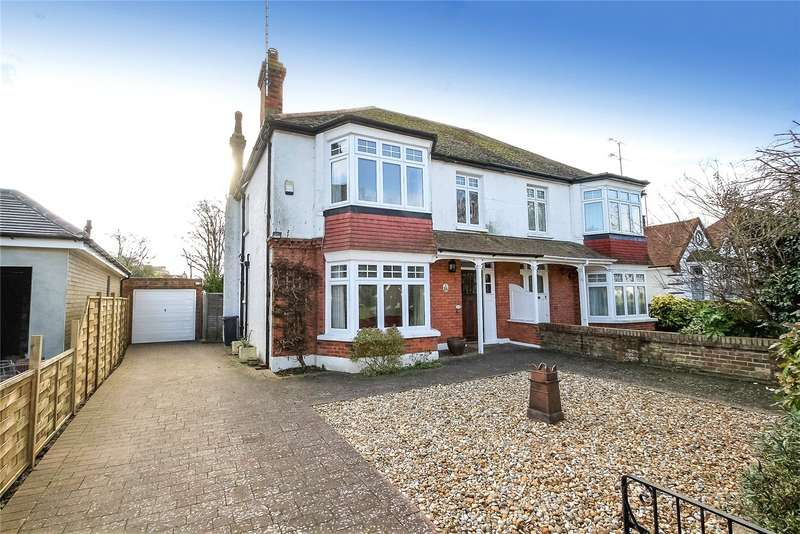 4 Bedrooms Semi Detached House for sale in Pevensey Road, West Worthing, West Sussex, BN11
