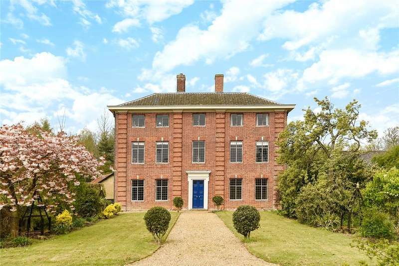5 Bedrooms Detached House for sale in Red Hall Lane, Southburgh, Near Hingham, Norfolk