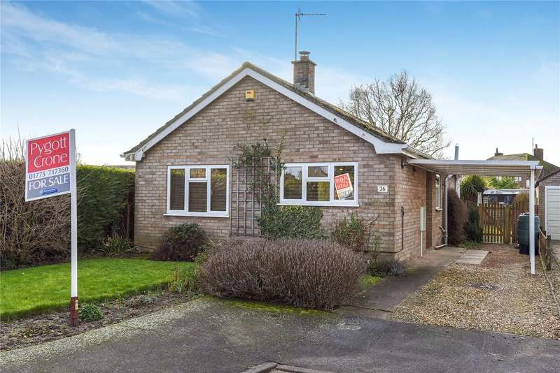 2 Bedrooms Detached Bungalow for sale in Maple Way, Donington, PE11