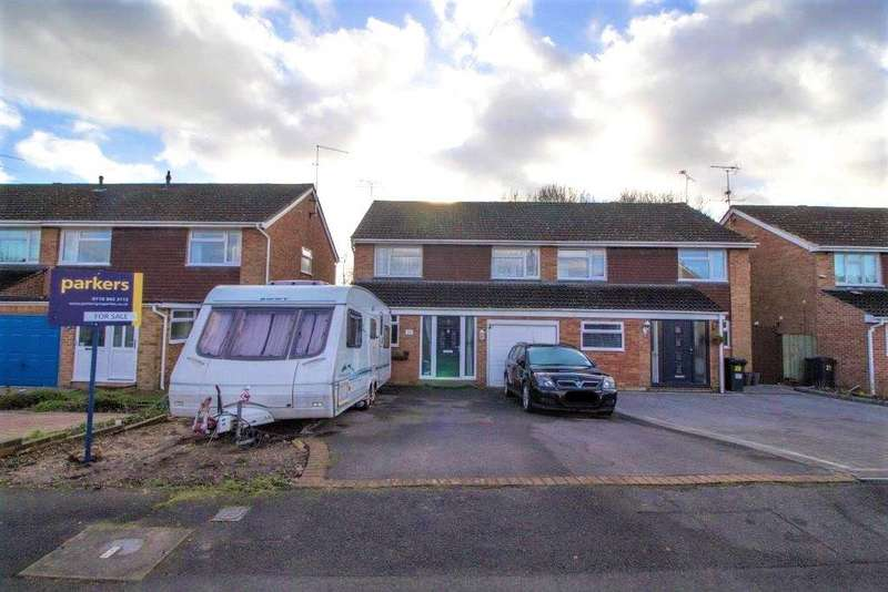 4 Bedrooms Semi Detached House for sale in Rangewood Avenue, Reading, Berkshire, RG30