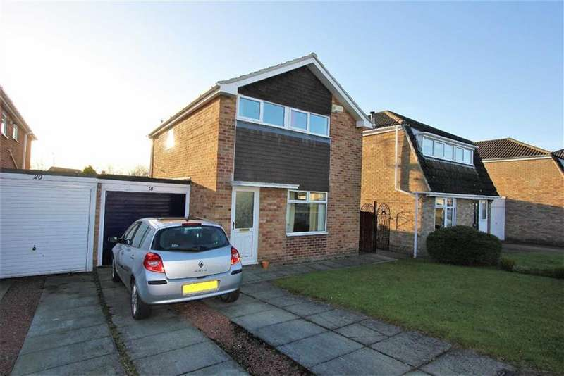 3 Bedrooms Link Detached House for sale in Beechwood Avenue, Stokesley