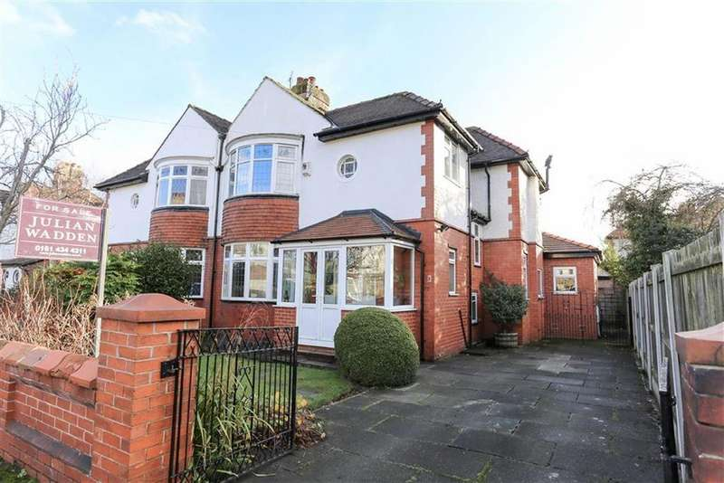 4 Bedrooms Semi Detached House for sale in Ruabon Road, Didsbury, Manchester