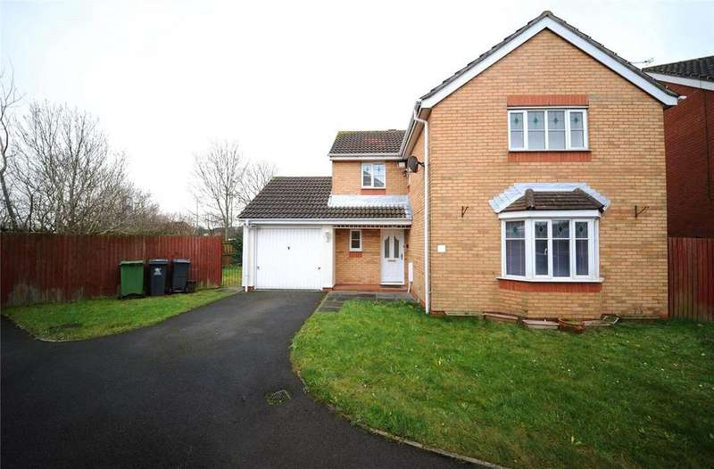 4 Bedrooms Detached House for sale in Clos Hector, Pengam Green, Cardiff, CF24