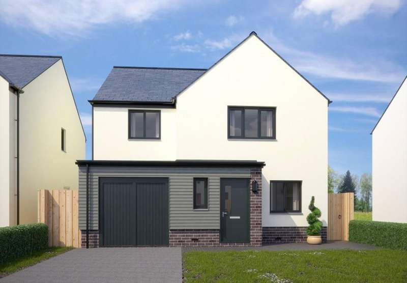4 Bedrooms Detached House for sale in The Barnard, Fusion, Paignton