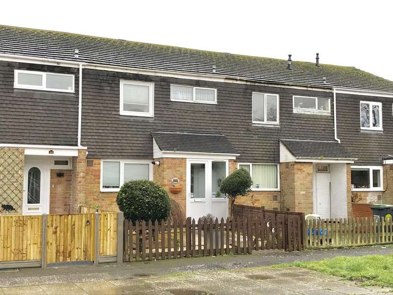 3 Bedrooms Terraced House for sale in Arminers Close, Alverstoke, Gosport PO12