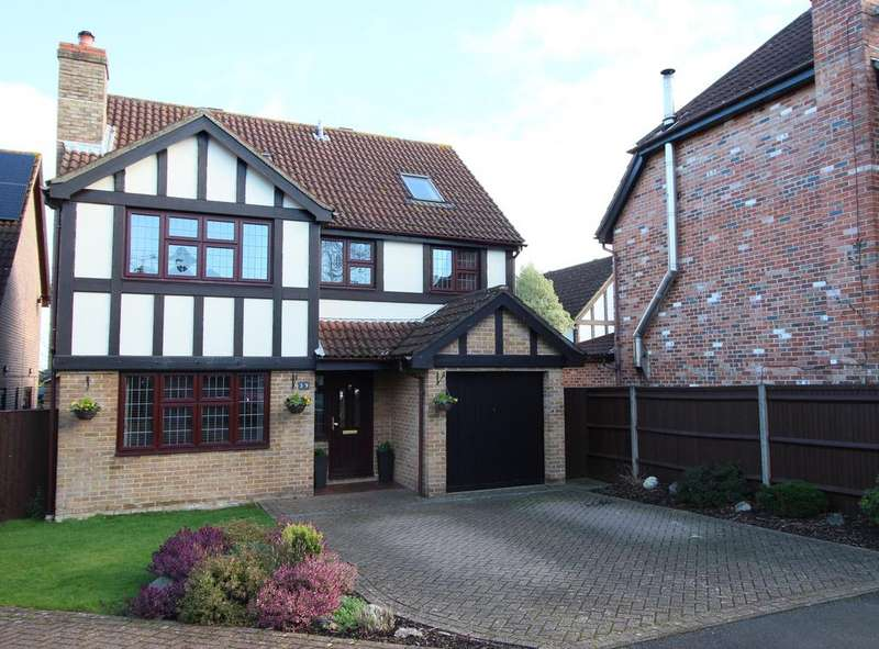 5 Bedrooms Detached House for sale in Beattie Rise, Hedge End SO30