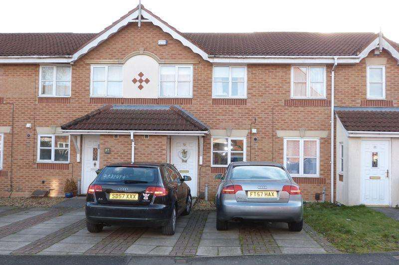 2 Bedrooms Terraced House for sale in Darien Way, Thorpe Astley