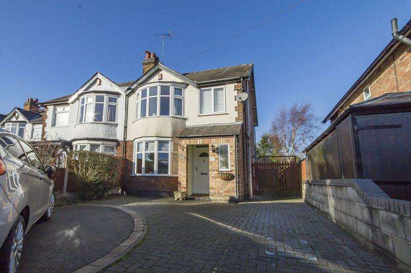 3 Bedrooms Semi Detached House for sale in UTTOXETER ROAD, MICKLEOVER