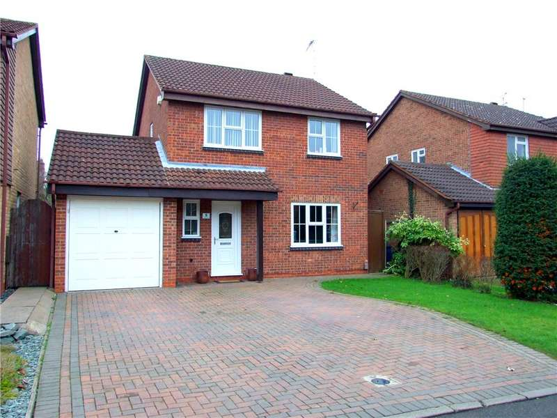 4 Bedrooms Detached House for sale in Wickersley Close, Allestree, Derbyshire, DE22