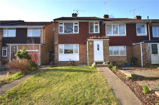 3 Bedrooms End Of Terrace House for sale in Glenavon Gardens, Yateley, Hampshire