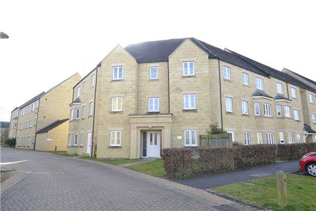 2 Bedrooms Flat for sale in Bathing Place Court, WITNEY, Oxfordshire, OX28