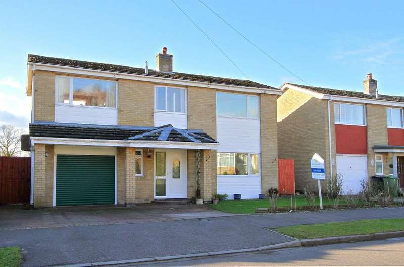 4 Bedrooms Detached House for sale in The Fields, Tacolneston