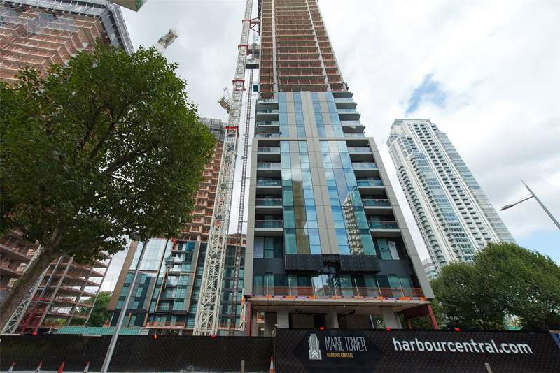 1 Bedroom Apartment Flat for sale in Maine Tower, Harbour Central, Canary Wharf, E14