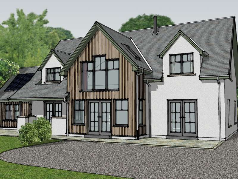 4 Bedrooms Detached House for sale in Plot 3 Kirk Brae, Kilmore by, Oban, PA34 4QR
