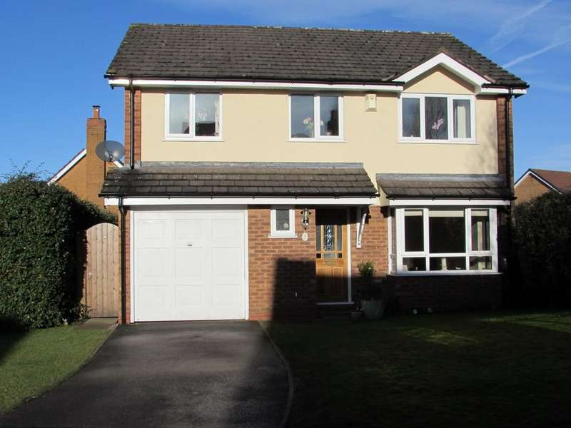 4 Bedrooms Detached House for sale in Chipstone Close, Solihull