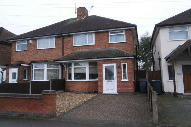 3 Bedrooms Semi Detached House for sale in Colchester Road, Off Uppingham Road, Leicester, LE5