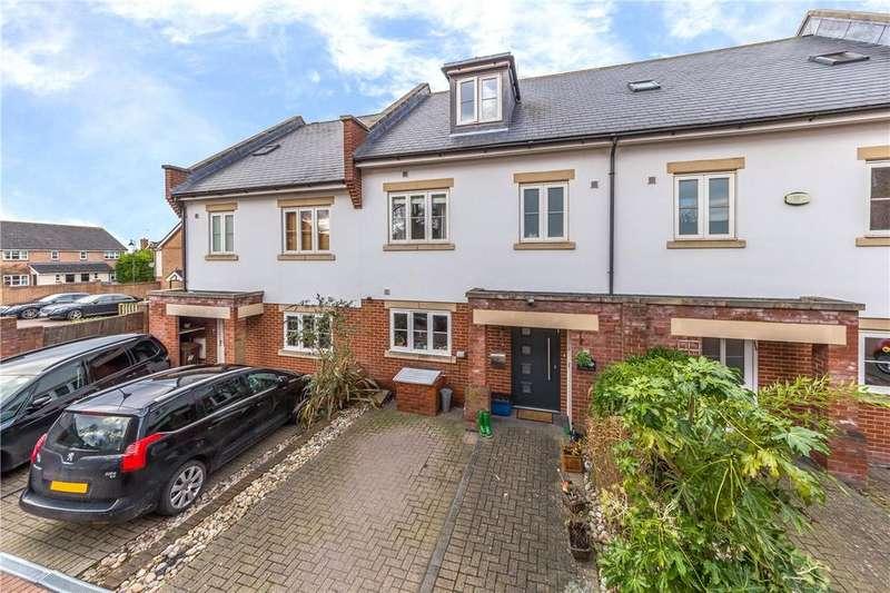 4 Bedrooms Terraced House for sale in Blenheim Mews, Shenley, Radlett, Hertfordshire