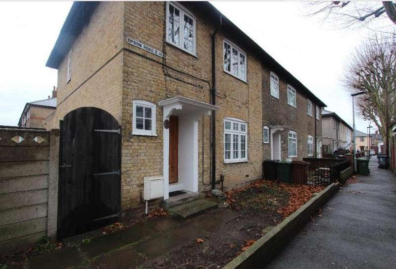 3 Bedrooms End Of Terrace House for sale in Epsom Road, London, E10 6ES