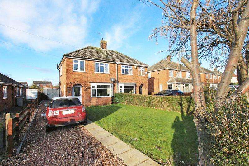 3 Bedrooms Semi Detached House for sale in LOUTH ROAD, HOLTON LE CLAY