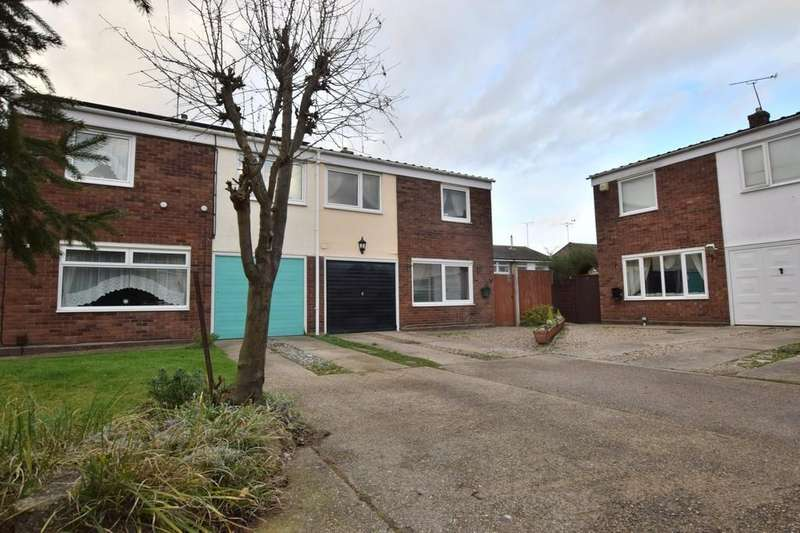 3 Bedrooms Semi Detached House for sale in Norwich Close, Colchester CO1 2RQ