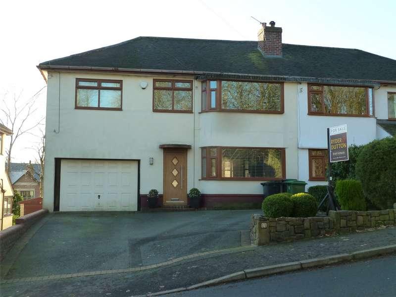 4 Bedrooms Semi Detached House for sale in Lovers Lane, Grasscroft, Saddleworth, OL4