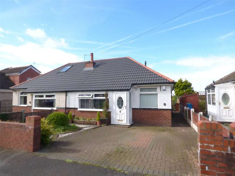 2 Bedrooms Semi Detached Bungalow for sale in Greenhill Avenue, Shaw, Oldham, Greater Manchester, OL2
