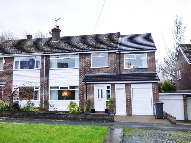 4 Bedrooms Semi Detached House for sale in Littlebrook Close, Hadfield, Glossop, SK13