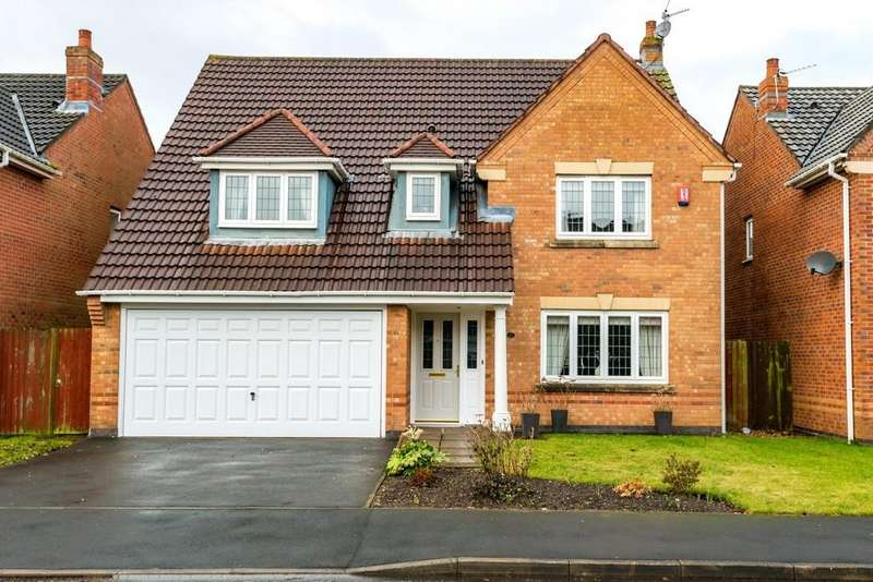 4 Bedrooms Detached House for sale in Breydon Gardens, Rainhill, St. Helens