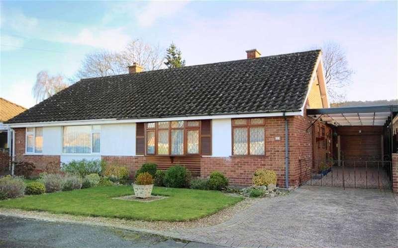 2 Bedrooms Semi Detached Bungalow for sale in Treelands Close, Leckhampton, Cheltenham, GL53