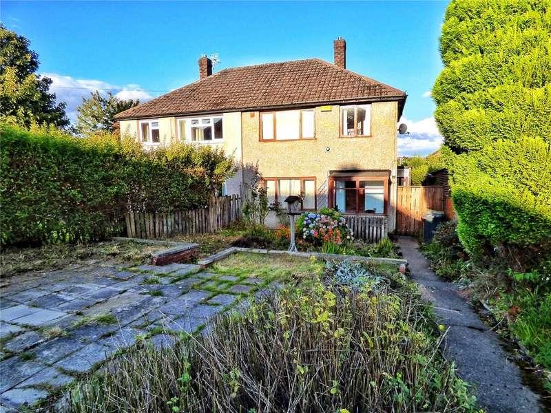 3 Bedrooms Semi Detached House for sale in Glastonbury Drive, Longwood, Huddersfield, HD3