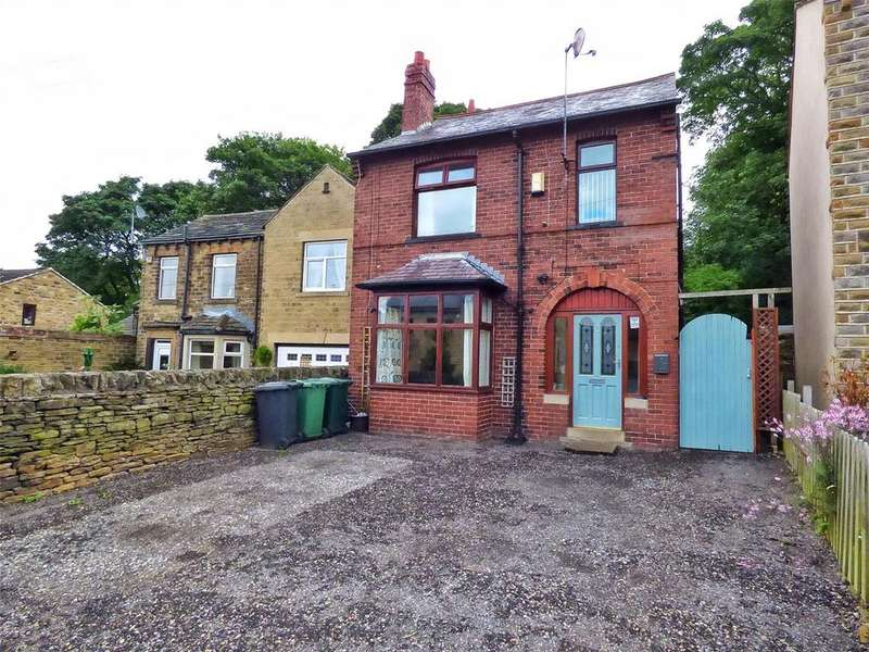 4 Bedrooms Detached House for sale in Scott Hill, Clayton West, Huddersfield, West Yorkshire, HD8