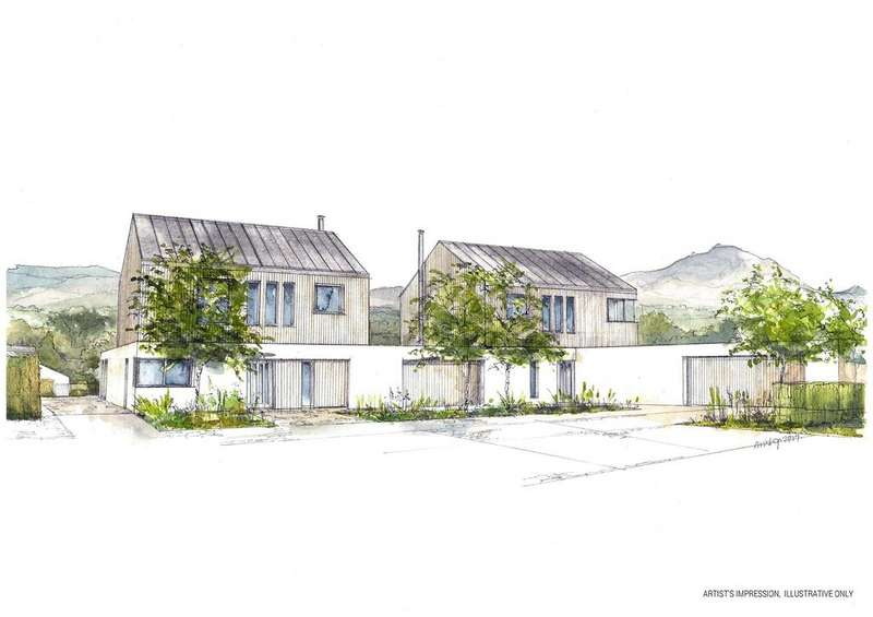 4 Bedrooms Detached House for sale in Drovers Meadow, Bronllys, Brecon, Powys