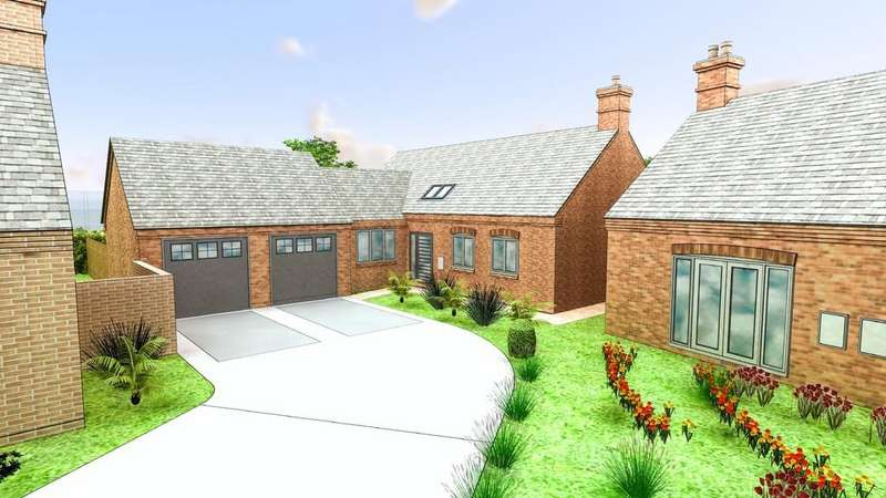 2 Bedrooms Detached Bungalow for sale in Ashby Road, Ravenstone
