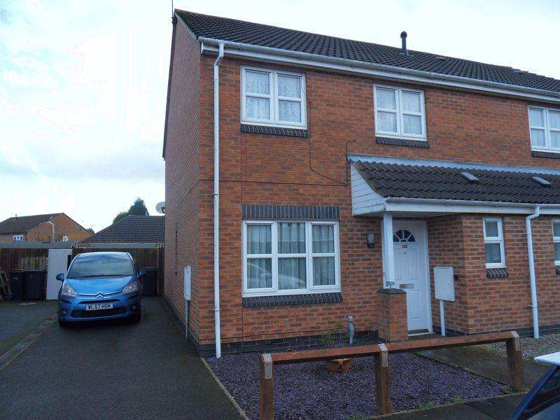 3 Bedrooms Semi Detached House for sale in Bakewell Street, Coalville