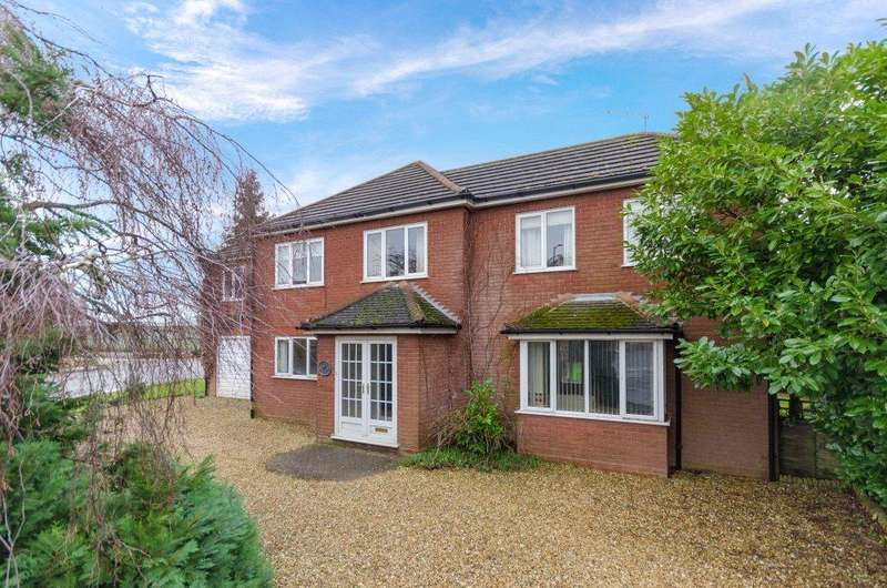 4 Bedrooms Detached House for sale in Redmile Close, Pinchbeck, Spalding, Lincolnshire, PE11