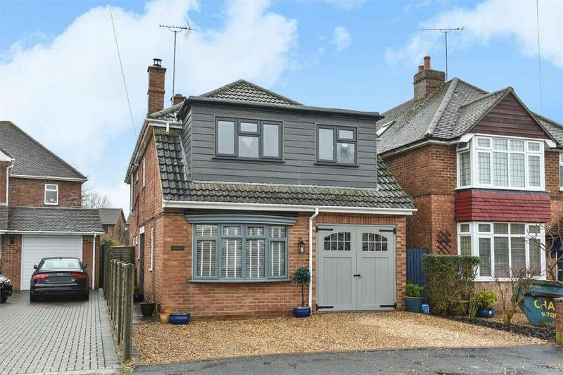 5 Bedrooms Detached House for sale in Bedford Crescent, Frimley Green, Surrey