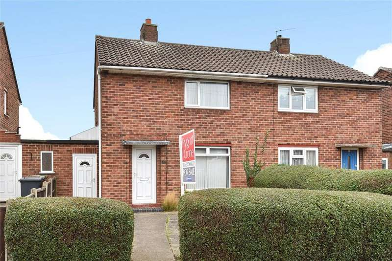 2 Bedrooms Semi Detached House for sale in Willingham Avenue, Lincoln, LN2