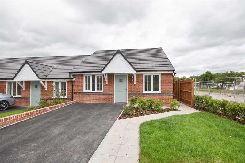 2 Bedrooms Terraced Bungalow for sale in Rowan Close, Cotgrave, Nottingham