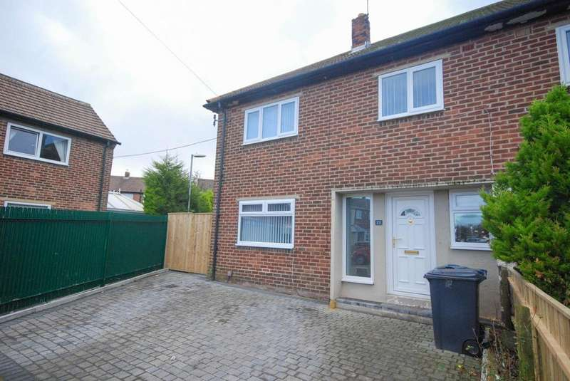 3 Bedrooms Semi Detached House for sale in Thirlmere Court, Hebburn