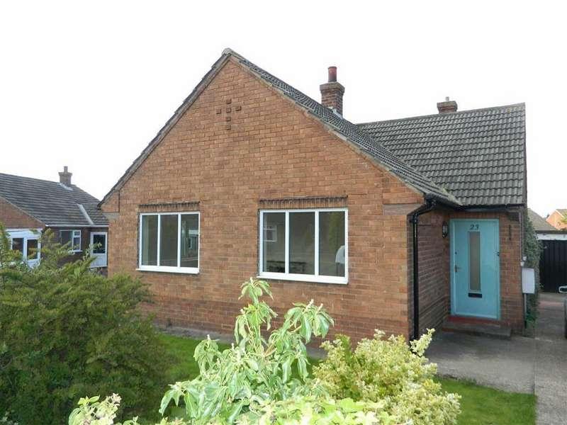 2 Bedrooms Detached Bungalow for rent in Poplar Crescent, Romanby, Northallerton