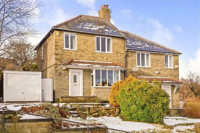 3 Bedrooms Semi Detached House for sale in Bank End Lane, Almondbury, Huddersfield, HD5